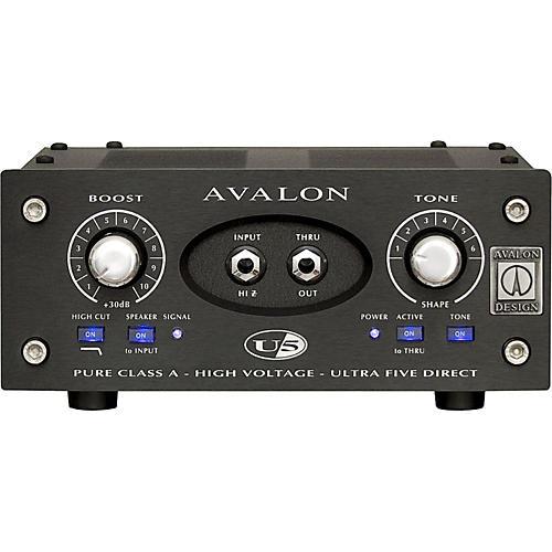 Avalon U5 Direct Box Instrument Preamplifier - 15th Anniversary-thumbnail