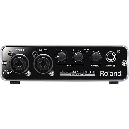 Roland UA-22 DUO CAPTURE  EX USB Audio/MIDI Interface-thumbnail