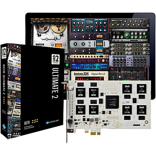 Universal Audio UAD-2 OCTO Ultimate 2 PCIe DSP Accelerator Package thumbnail