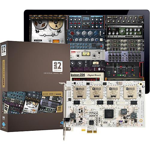 Universal Audio UAD-2 QUAD Omni 6 DSP Accelerator Card w/ Omni Plug-In Bundle thumbnail