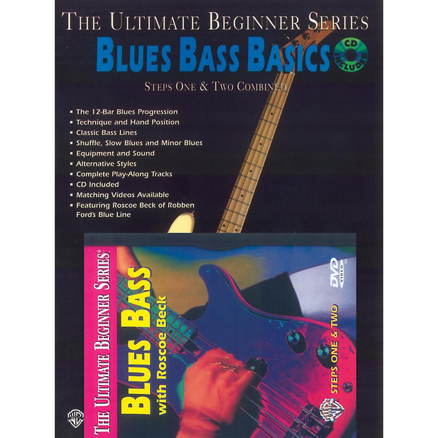 Alfred UBS Blues Bass Basics MegaPak (Book/DVD/CD) thumbnail