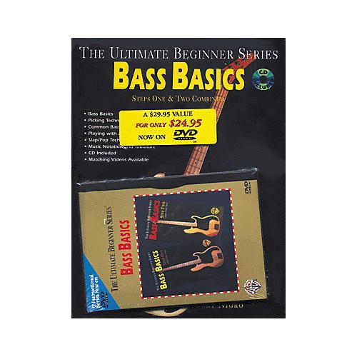 Alfred UBS Rock Bass Basics MegaPak (Book/DVD/CD) thumbnail