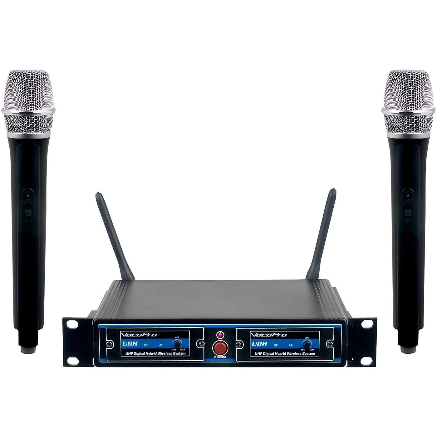 Vocopro UDH-DUAL-H Hybrid Wireless System thumbnail