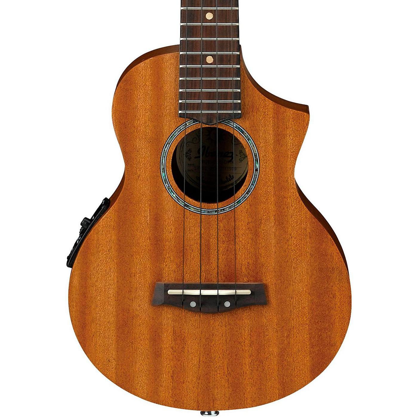 Ibanez UEW5E All-Mahogany Concert Acoustic-Electric Ukulele thumbnail
