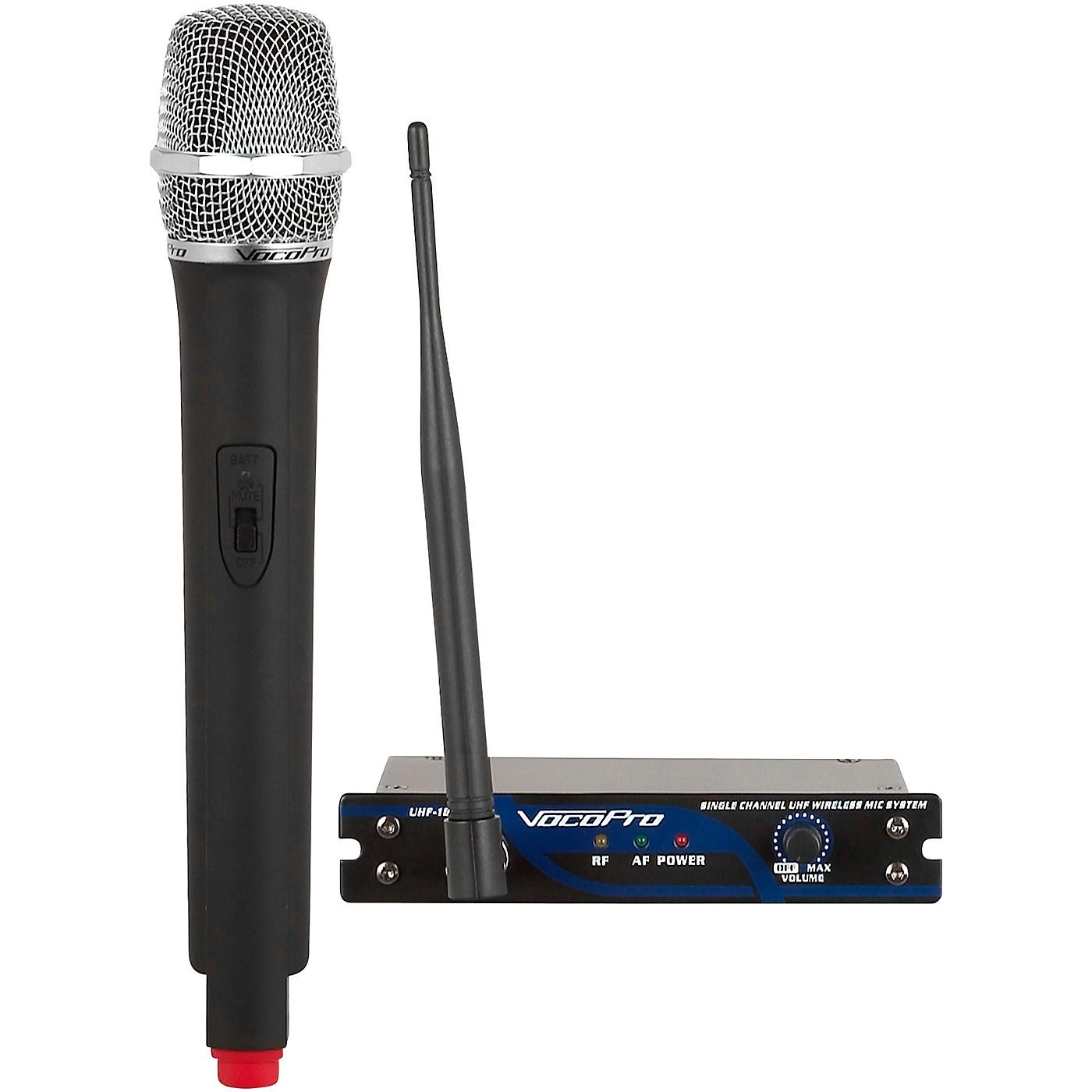 Vocopro UHF-18 Single Channel UHF Wireless Mic System thumbnail