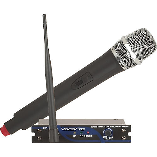 VocoPro UHF-18 Single Channel UHF Wireless Mic System thumbnail