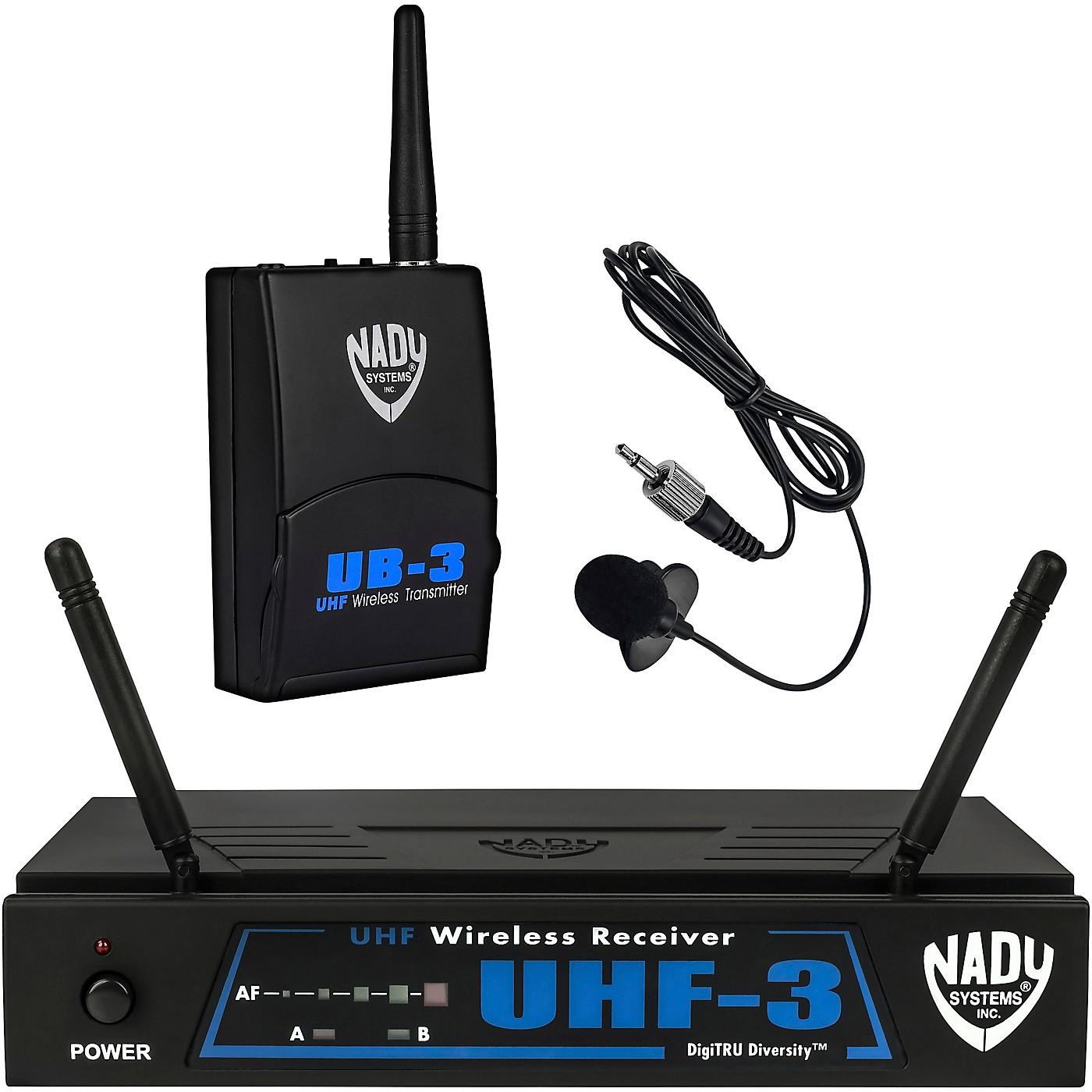 Nady UHF-3 Lavalier Wireless System thumbnail