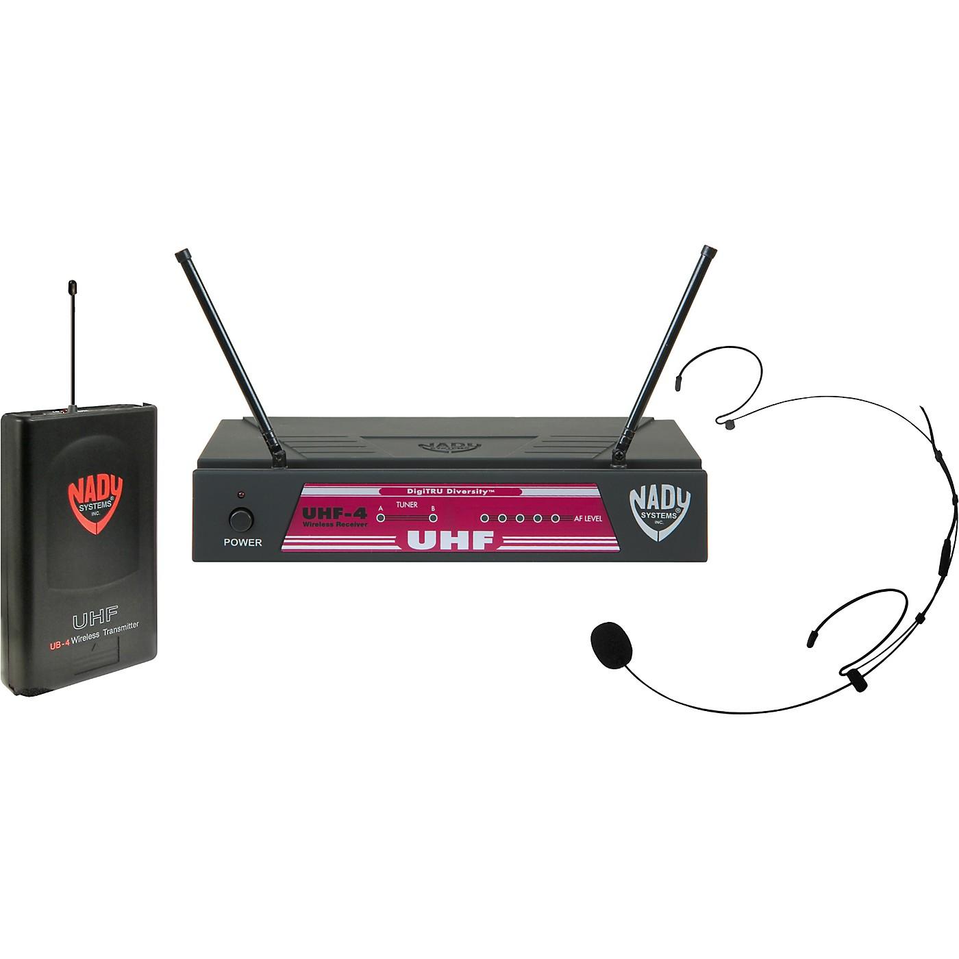 Nady UHF-4 LT/HM-20U (115) Headset Wireless System thumbnail