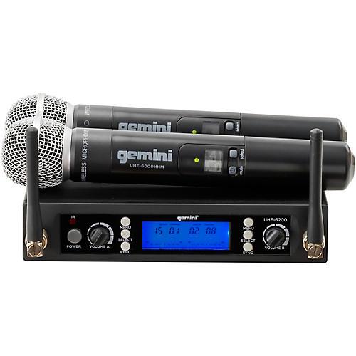 Gemini UHF-6200M UHF Dual Handheld system thumbnail