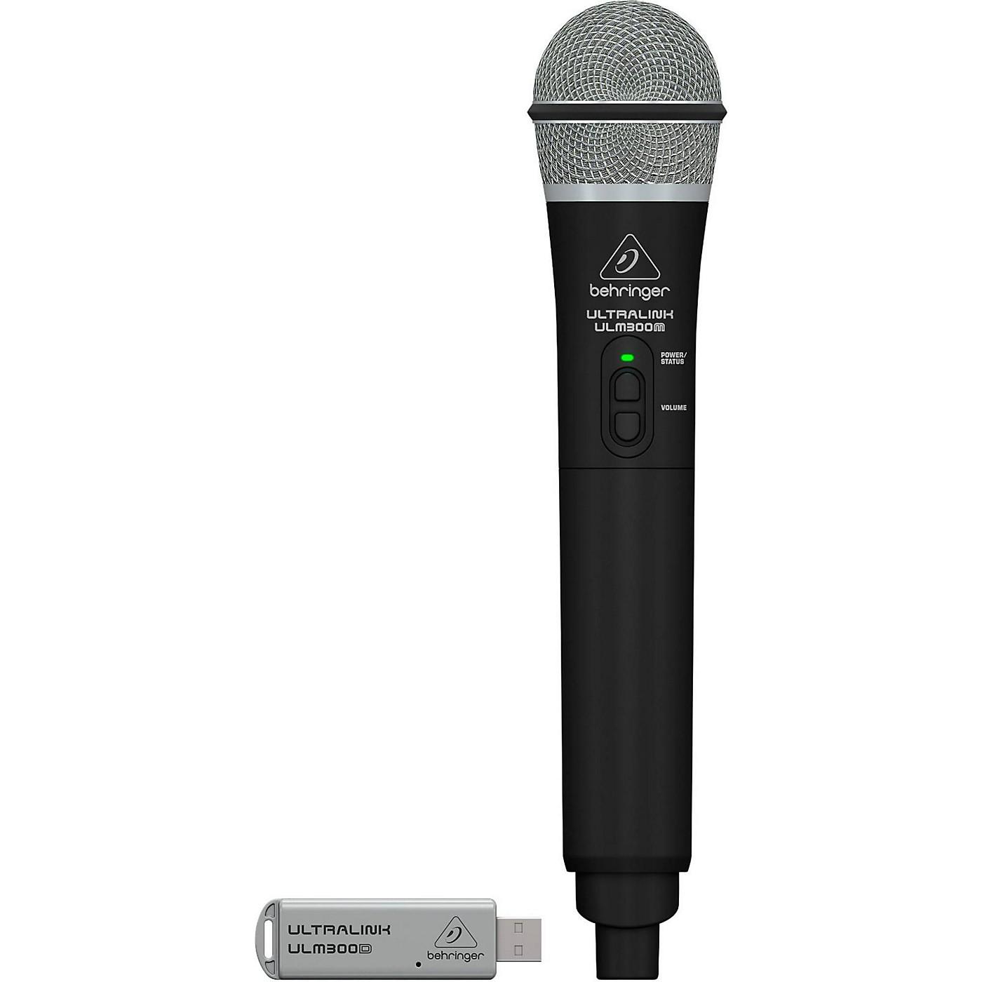 Behringer ULM300USB 2.4 GHz Handheld Digital Wireless System & Dual-Mode Receiver thumbnail