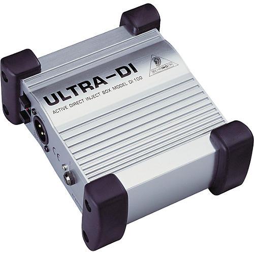 Behringer ULTRA-DI DI100 Direct Box thumbnail