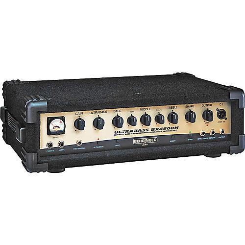 Behringer ULTRABASS BX4500H Bass Amp Head thumbnail
