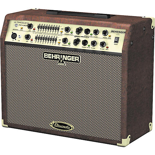 Behringer ULTRACOUSTIC ACX1800 Acoustic Guitar Amplifier-thumbnail