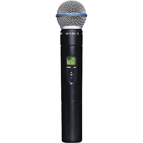 Shure ULX2/BETA58 Wireless Handheld Transmitter Microphone thumbnail