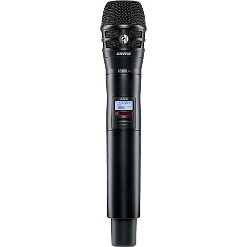 Shure ULXD2/K8B Handheld Transmitter with KSM8 Capsule in Black thumbnail