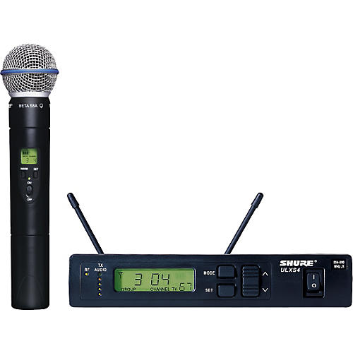 Shure ULXS24/BETA58 Handheld Wireless Microphone System thumbnail
