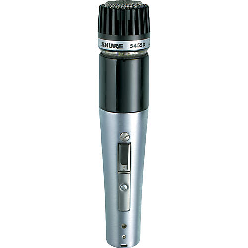 Shure UNIDYNE III 545SD-LC Dual Impedance Unidirectional Microphone thumbnail