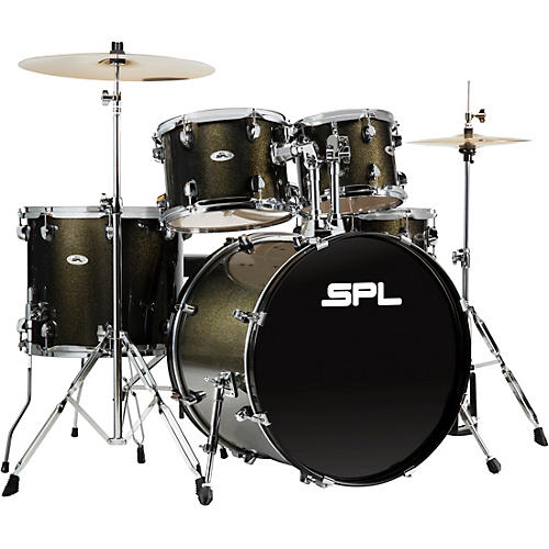Sound Percussion Labs UNITY II 5-Piece Complete Drum Set with Hardware, Cymbals and Throne thumbnail