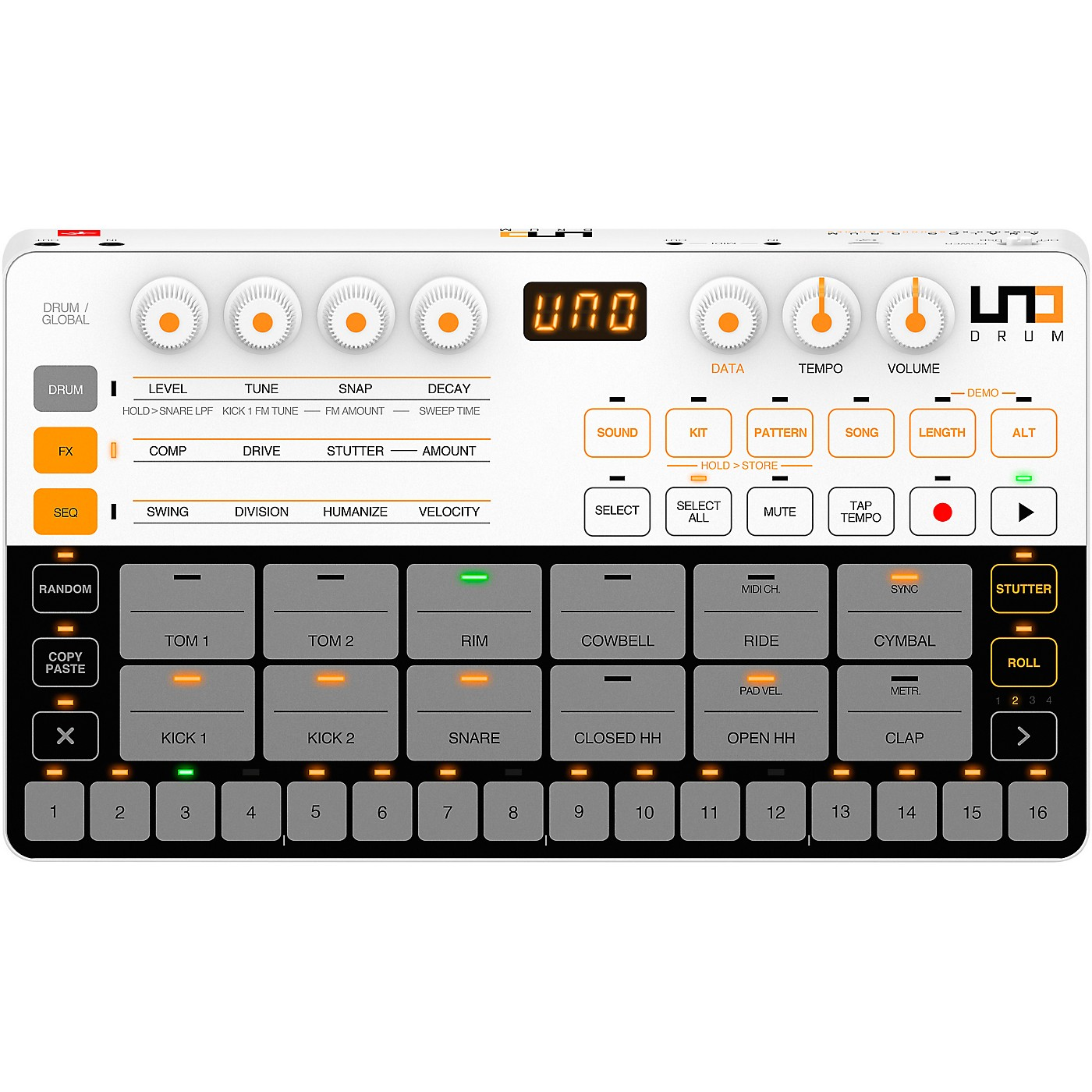 IK Multimedia UNO Drum (Analog Drum Machine) thumbnail