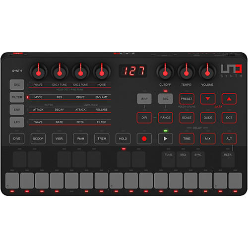 IK Multimedia UNO Synth Portable Analog Synthesizer thumbnail