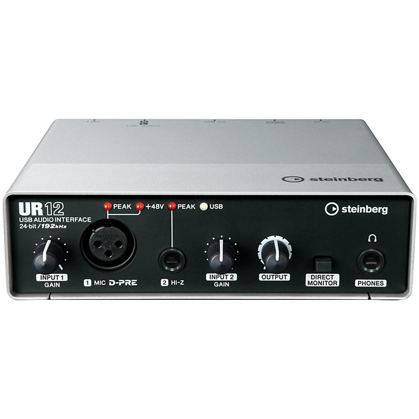 Steinberg UR12 2x2 USB 2.0 Audio Interface thumbnail