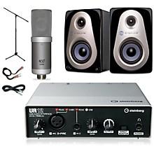 Steinberg UR12 MXL V250 Sterling Audio MX3 Package