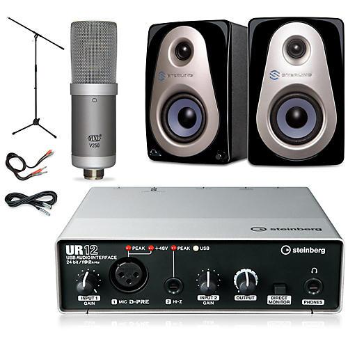 Steinberg UR12 MXL V250 Sterling Audio MX3 Package thumbnail