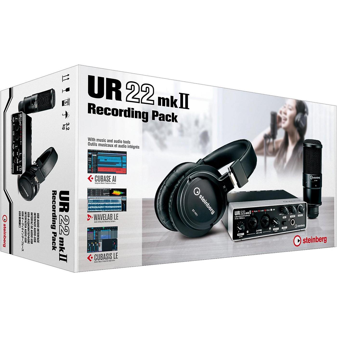 Steinberg UR22 MkII Recording Pack thumbnail