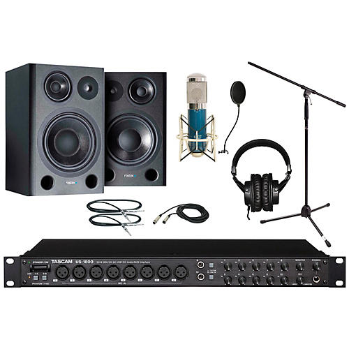 Tascam US-1800 MXL 4000 Recording Package thumbnail
