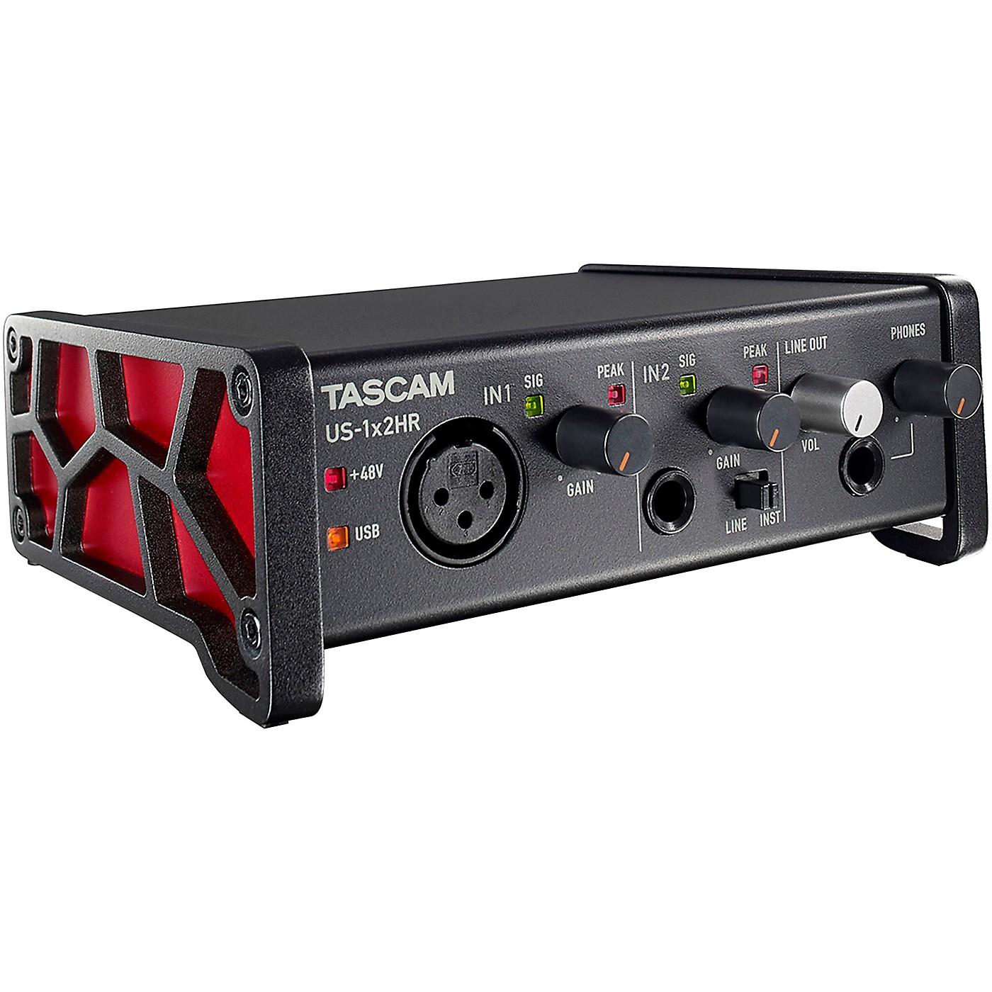 TASCAM US-1X2HR 2-Channel USB Audio Interface thumbnail