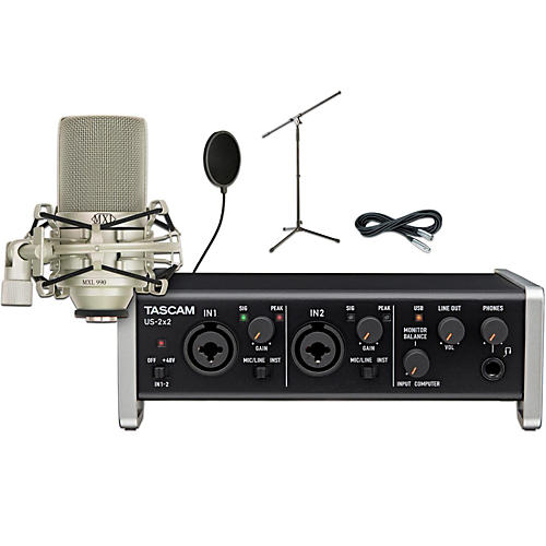 Tascam US-2x2 Pop Filter Package thumbnail
