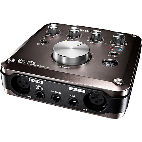 Tascam US-366 USB Audio Interface thumbnail