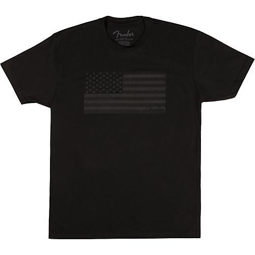 Fender USA Flag Blackout T-shirt thumbnail