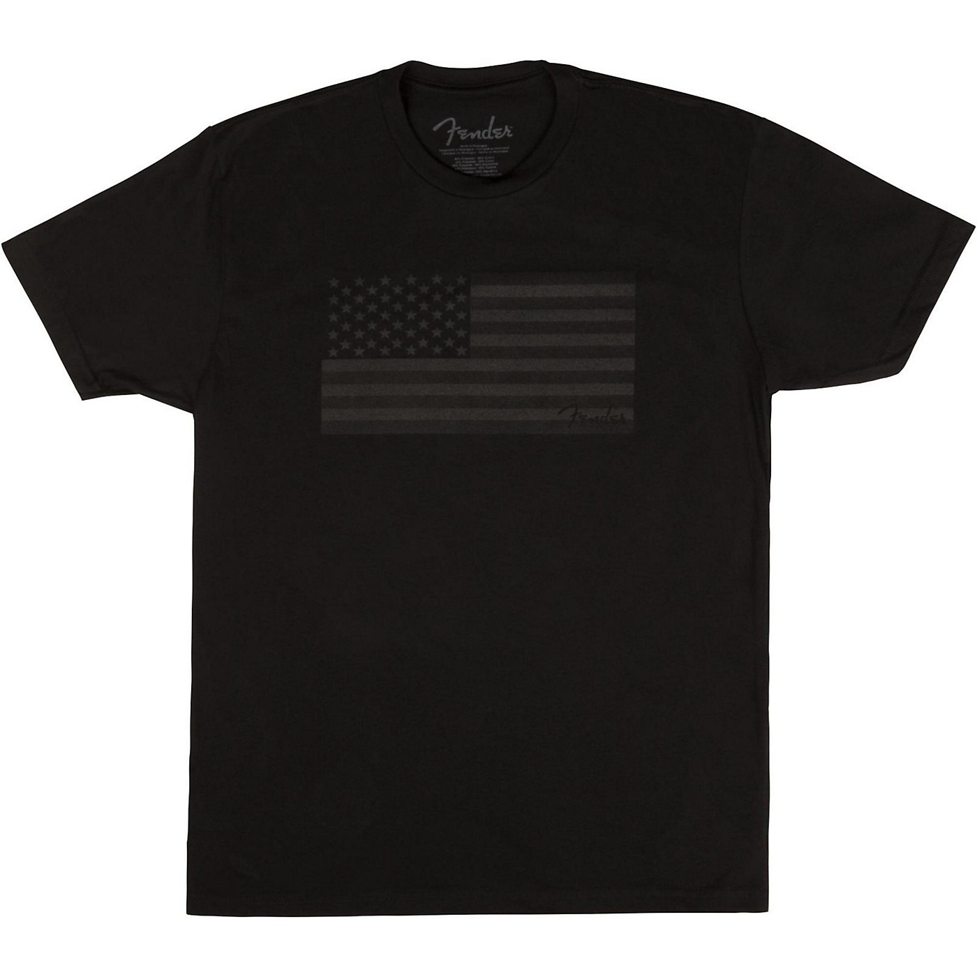 Fender USA Flag Blackout T-shirt thumbnail
