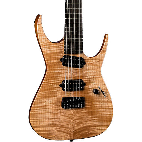 Dean USA Rusty Cooley 7-String Flame Top Custom Oil Electric Guitar thumbnail