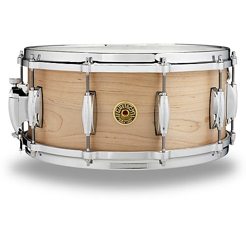 Gretsch Drums USA Solid Maple Snare Drum thumbnail