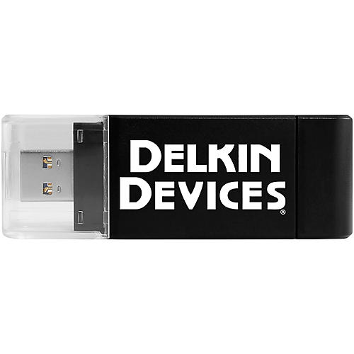 Delkin USB 3.0 Dual-Slot SD and MicroSD Travel Reader thumbnail