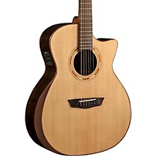 Washburn USM-WCG20SCE Comfort Series Acoustic-Electric Guitar