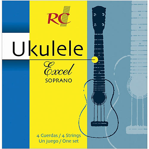 RC Strings UXS90 Excel Soprano Ukulele Strings thumbnail