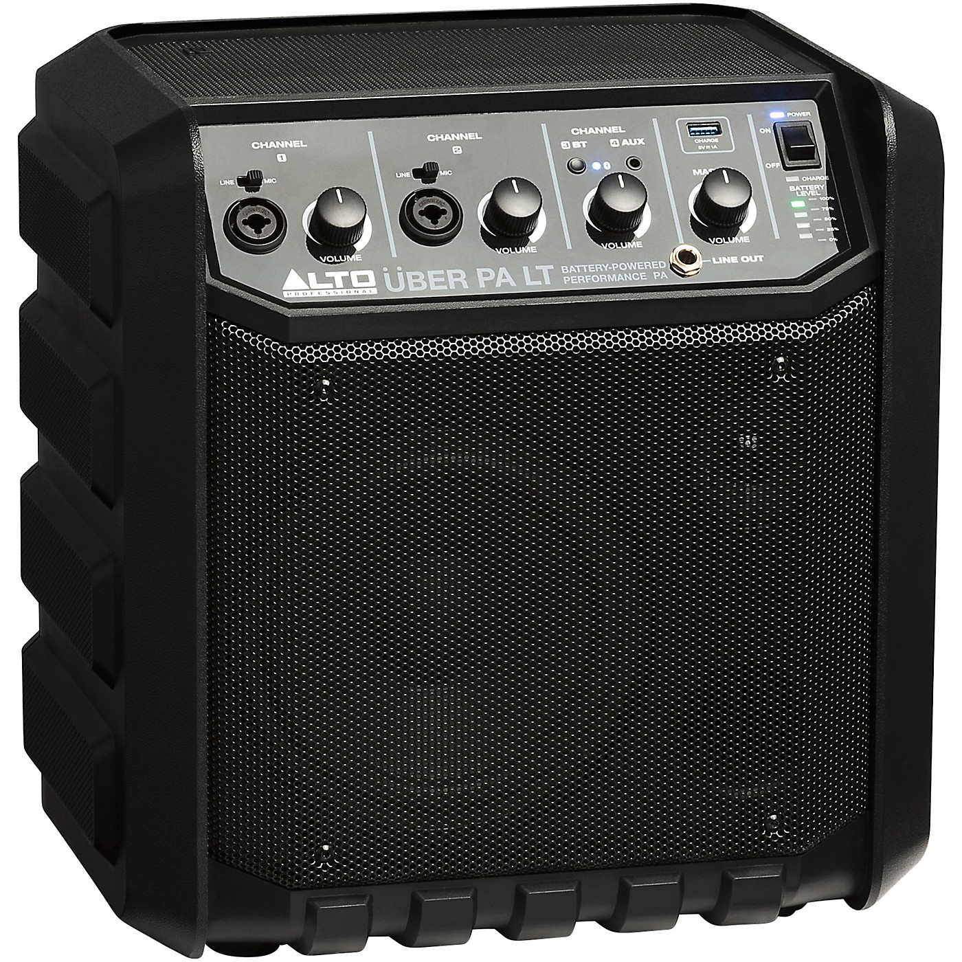 Alto Uber LT Portable PA Bluetooth Speaker With Rechargeable Battery thumbnail