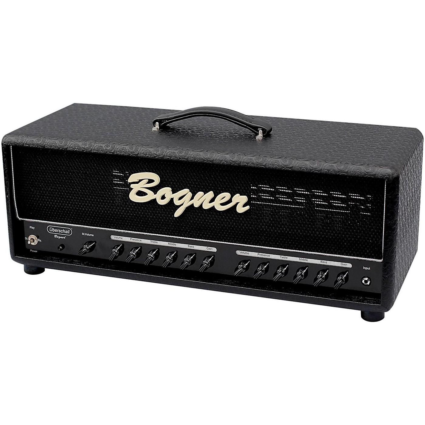 Bogner Uberschall 120W EL34 Tube Guitar Amp Head Comet Black thumbnail