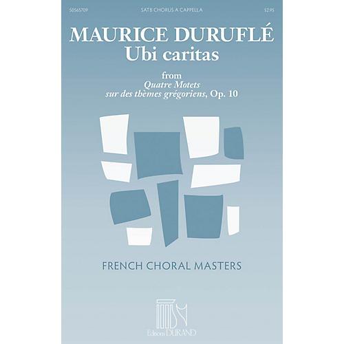 Durand Ubi caritas (from Quatre Motets sur des thèmes grégoriens, Op. 10) SATTBB A Cappella by Maurice Duruflé thumbnail