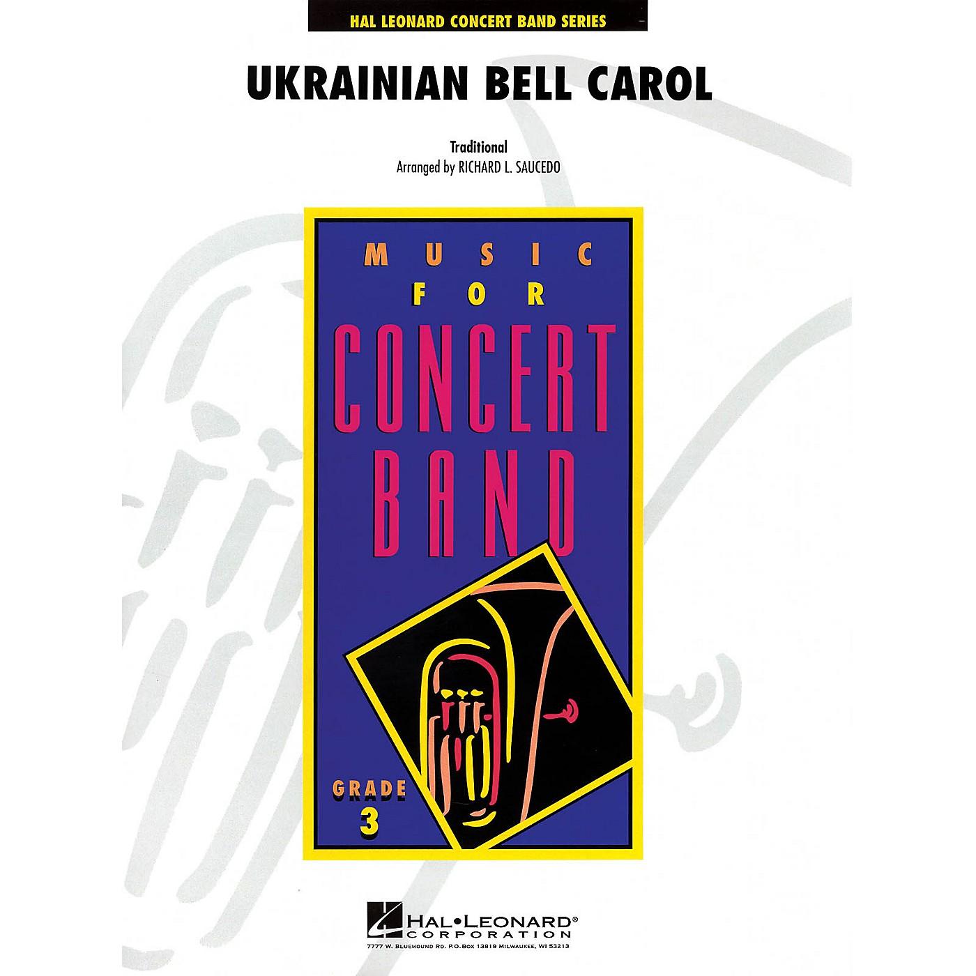 Hal Leonard Ukrainian Bell Carol - Young Concert Band Series Level 3 arranged by Richard L. Saucedo thumbnail