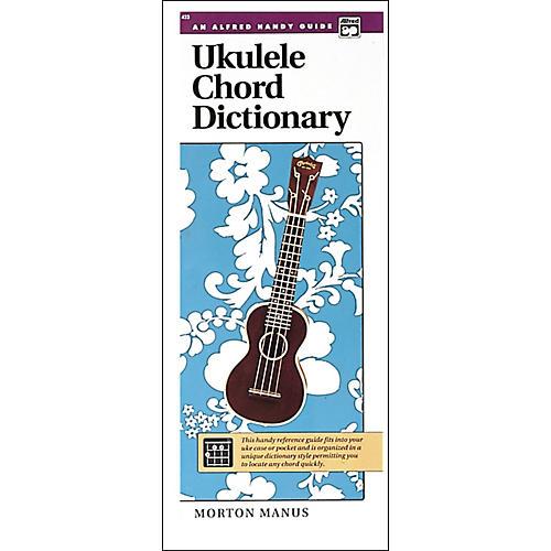 Alfred Ukulele Chord Dictionary thumbnail