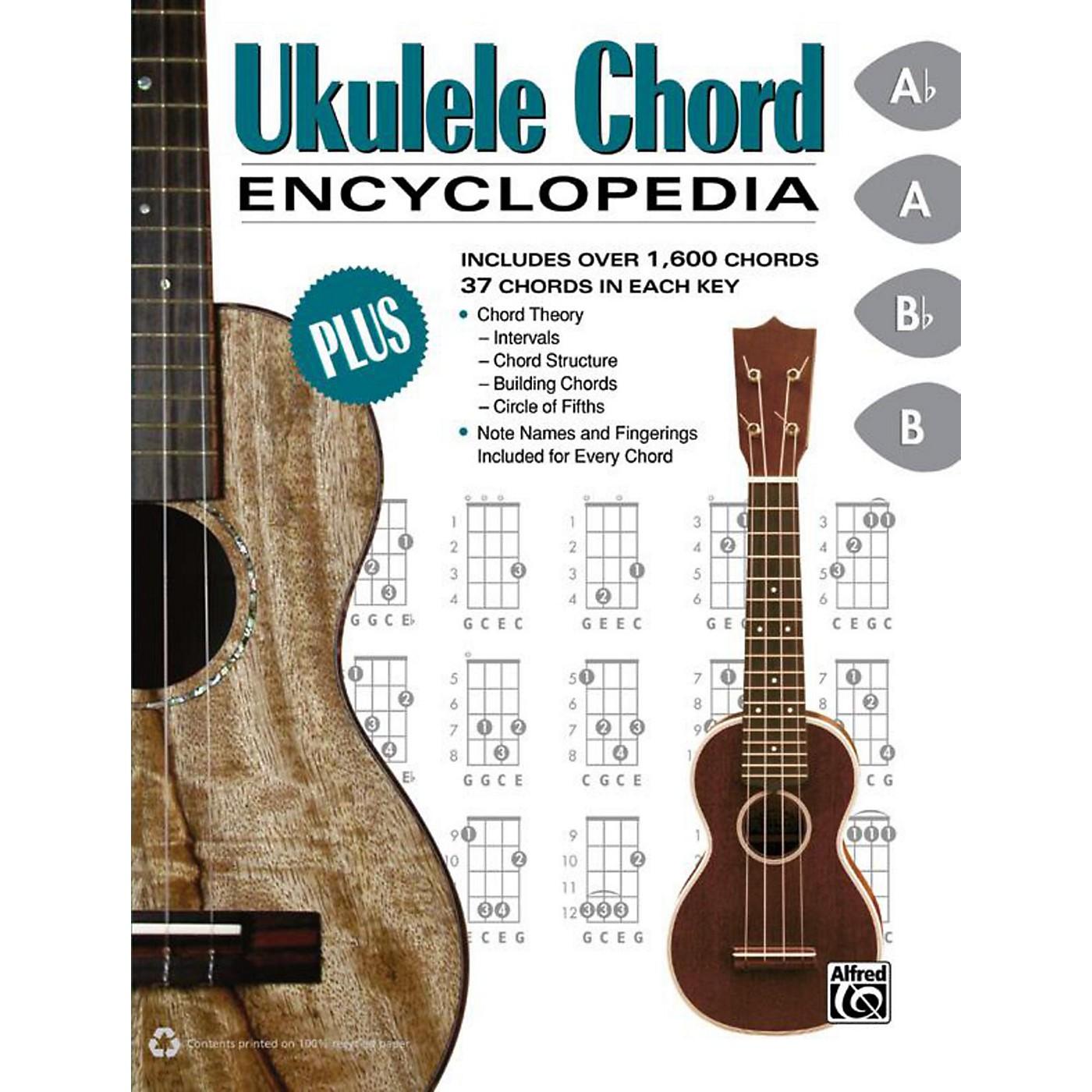 Alfred Ukulele Chord Encyclopedia - Book thumbnail