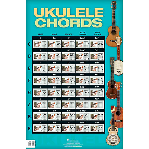 Hal Leonard Ukulele Chords Poster thumbnail