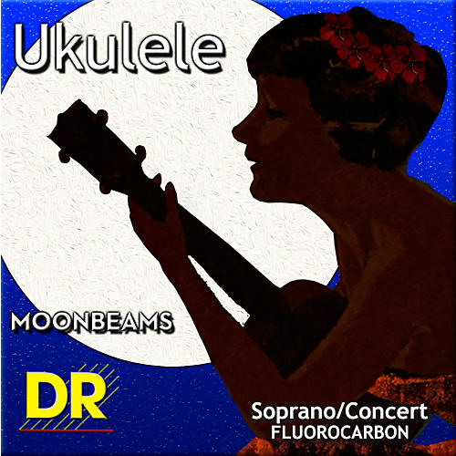 DR Strings Ukulele Clear Fluorocarbon Soprano or Concert Strings thumbnail