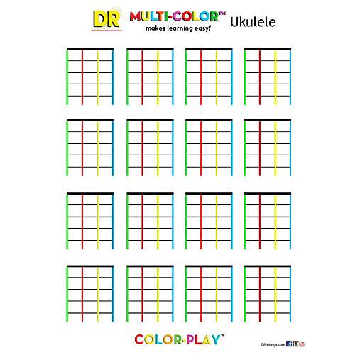 DR Strings Ukulele Color Pad thumbnail
