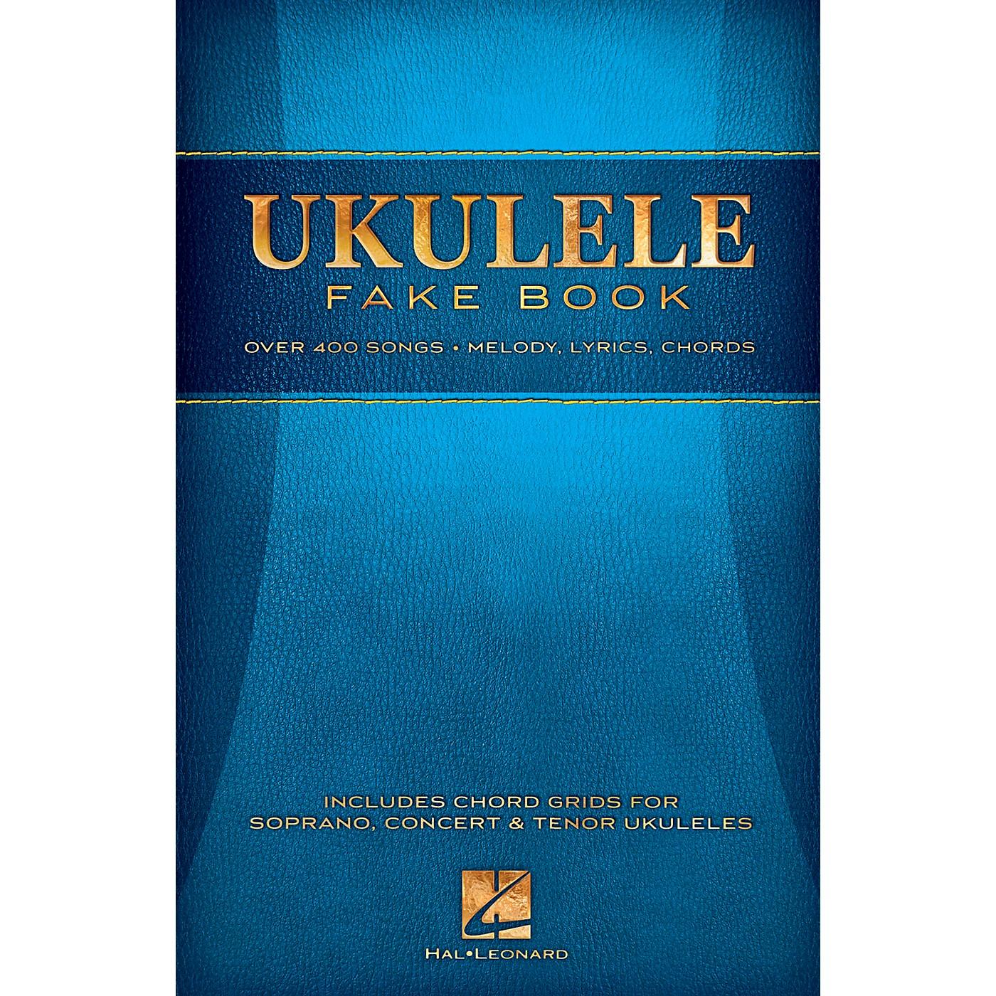 Hal Leonard Ukulele Fake Book thumbnail