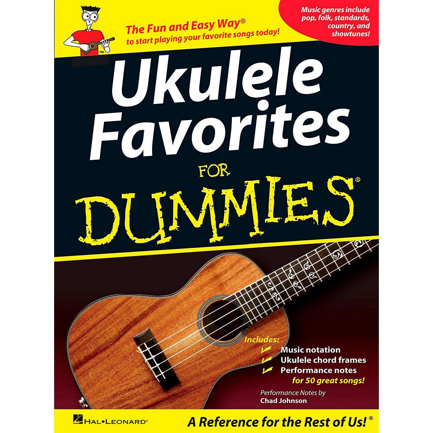 Hal Leonard Ukulele Favorites For Dummies thumbnail